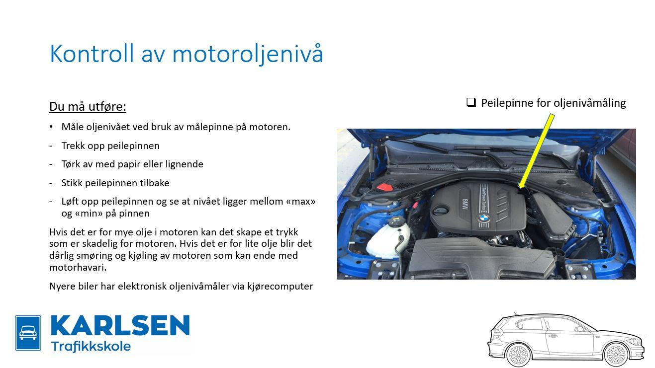 motoroljenivå