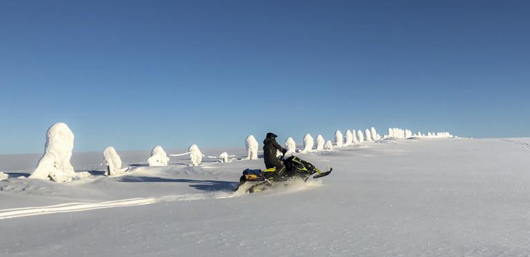 Snøscooter Klasse S