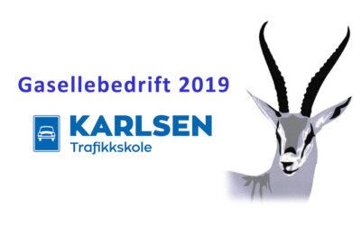Gasellebedrift 2019!