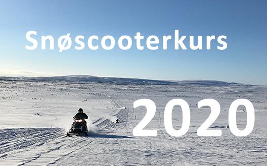 Snøscooterkurs 2020